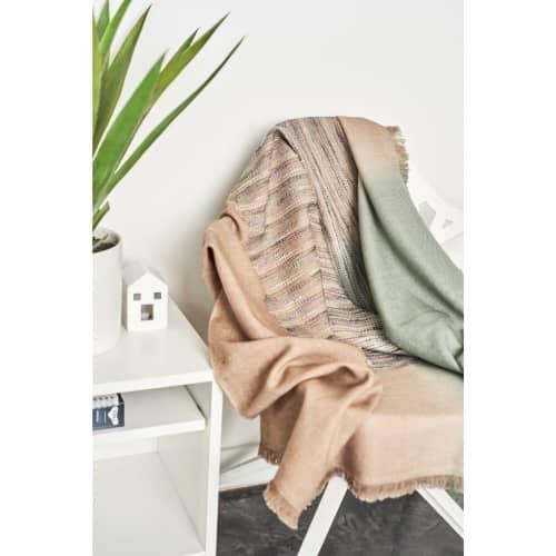 Salvia Merino Throw | Linens & Bedding by Studio Variously