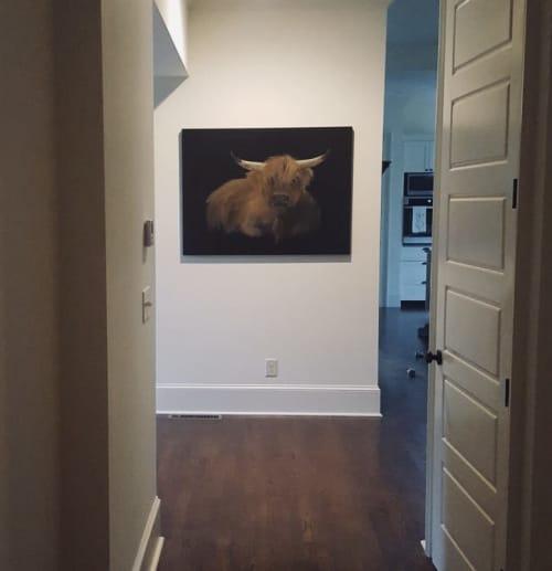 Bullpen Baron | Paintings by Marilyn Landers