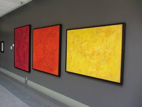 Chakra Healing Series   Paintings by Candace Wilson Art Studio   Peterborough Regional Health Centre in Peterborough