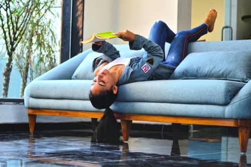 Light Blue Sofa Set | Couches & Sofas by GreenSquares_DesignStudio