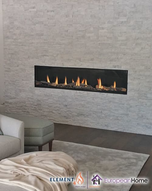 Interior Design by European Home seen at Private Residence, Middleton - Modore 185 Single-Sided Gas Fireplace