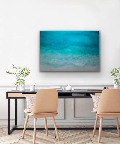Paintings by Melissa Renee fieryfordeepblue  Art & Design seen at Laguna Beach, Laguna Beach - Catch me in the Caymans
