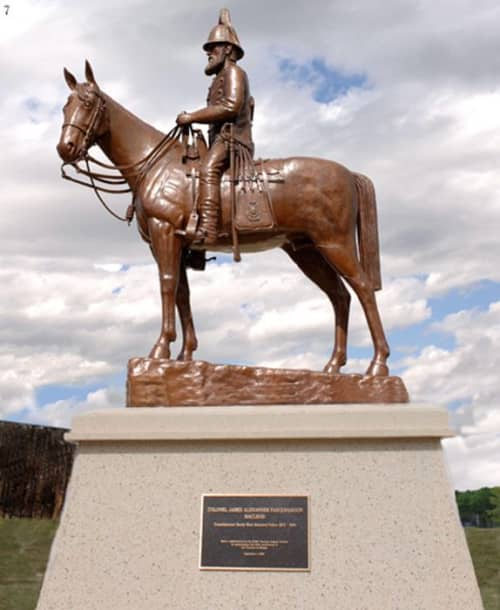 Macleod, Colonel James A. Farquharson | Public Sculptures by Don Begg / Studio West Bronze Foundry & Art Gallery