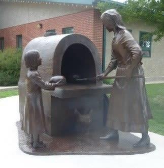 Ukrainian Woman Memorial Statue   Public Sculptures by Don Begg / Studio West Bronze Foundry & Art Gallery