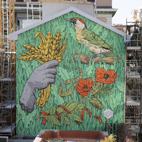PATRIMONIO INDIGENO | Murals by Luca Maleonte