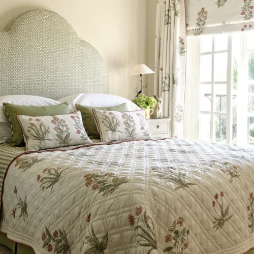Linens & Bedding by Chelsea Textiles seen at Domain Grande Bastide, Tourrettes - Culpeper Fabrics