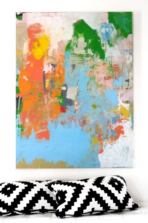 Paintings by Deanna Fainelli - Rainbows and Unicorns