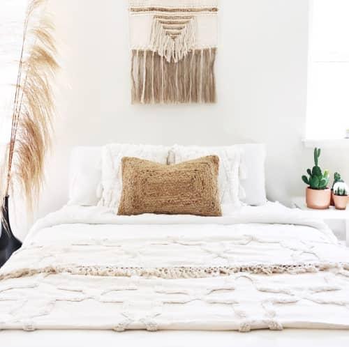 Pillows by Coastal Boho Studio seen at Destin, Destin - Luxe Koko Lumbar Pillow Cover