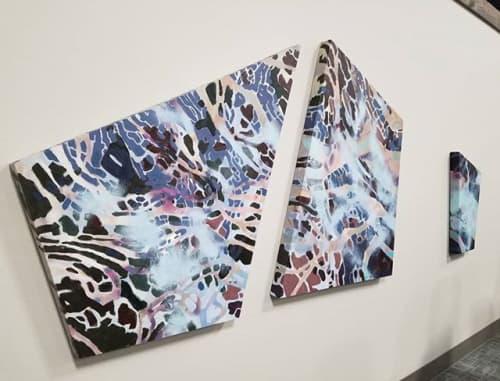 Paintings by Lisa Rachel Horlander seen at WorkHub, Tyler - Between Preludes