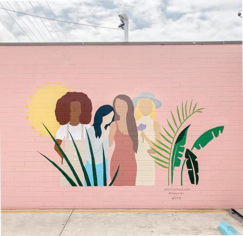Fem X Mural   Street Murals by Stefanie Bales Fine Art   FEMX QUARTERS in San Diego