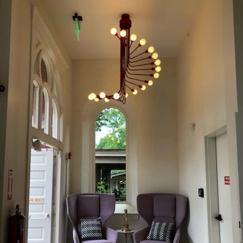 Chandeliers by Southern Lights Electric at The Russell, Nashville - Custom Chandelier