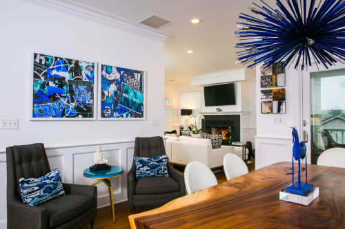 Art & Wall Decor by Joanie Landau seen at Private Residence, Fairfield - Love Yourself
