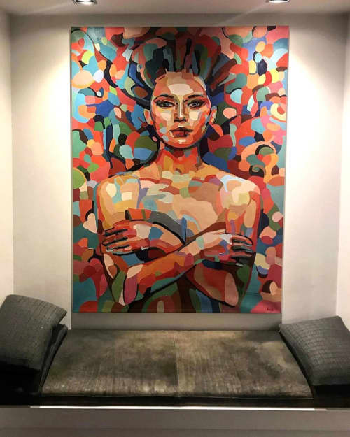 Paintings by Noemi Safir Artist - You cannot take it from me