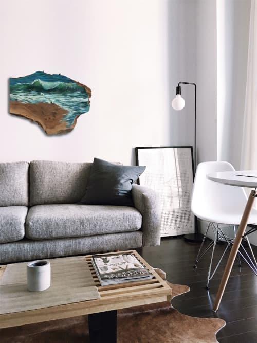 Ocean #4   Paintings by Lindsey Millikan (Milli)