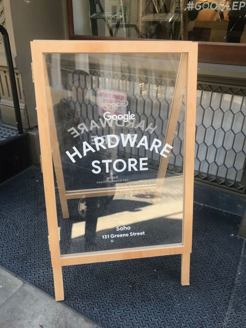 GOOGLE Hardware Store | Signage by Very Fine Signs