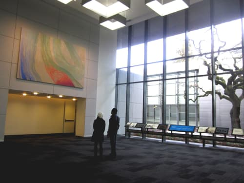 Hewlett Packard Headquarter Project   Paintings by Trang T. Le