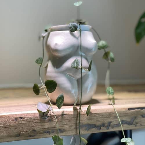 Goddess Vase   Vases & Vessels by Laurel's Boutique