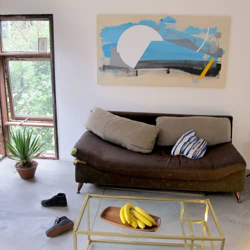 Acrylic on canvas   Paintings by Defi Gagliardo   Private Residence in Buenos Aires