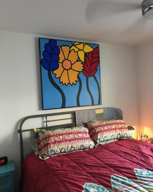 Paintings by Albert Gonzales seen at Private Residence, San Antonio - Wabi Sabi