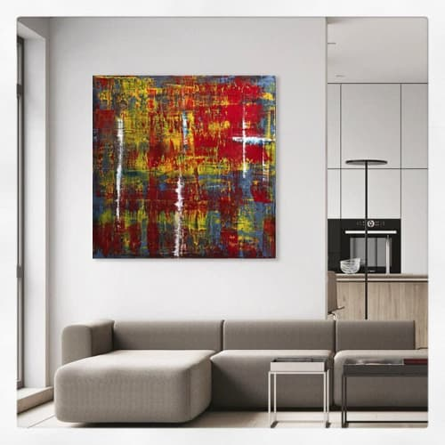 Paintings by Marco Domeniconi Studio seen at Private Residence - K171