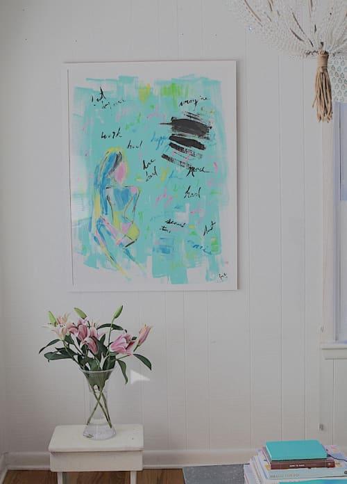 Miscommunication   Art & Wall Decor by Jacqueline deMontravel