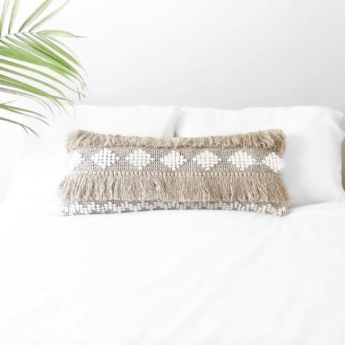 Pillows by Coastal Boho Studio - Piper Lumbar Pillow Cover