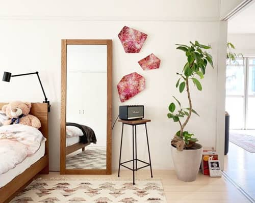 Wall Hangings by Chieko Shimizu Fujioka seen at Private Residence, Brussels - My Mariko
