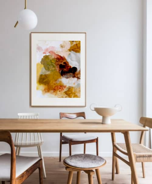 Remnants Print | Wall Hangings by Emily Tingey