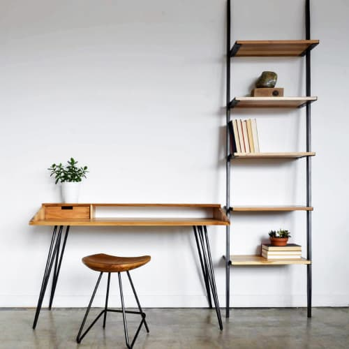 Scout + Corvus Desk   Tables by From the Source
