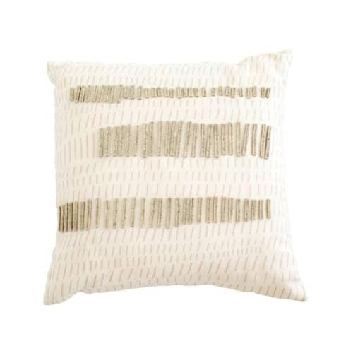 Pillows by Jill Malek Wallpaper - Terrains Pillow   Flax