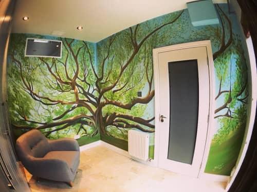 Bodhi Tree | Murals by Fran Halpin Art