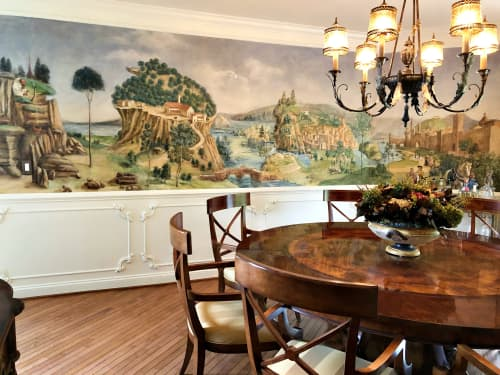 Murals by Lisa Tureson  STUDIO ARTISTICA seen at Private Residence - Renaissance Mural