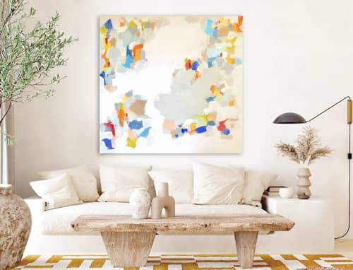 'STAND AND DELiVER' | Paintings by Linnea Heide contemporary fine art