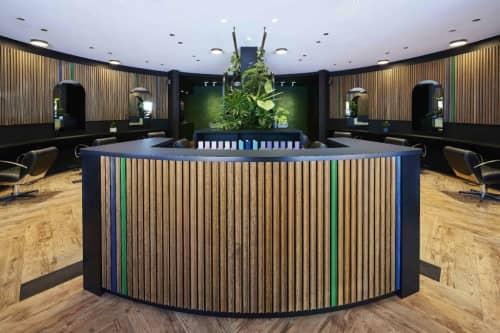 Baseline Hairdressing   Interior Design by Neil Cownie Architect   Baseline Hairdressing in Subiaco