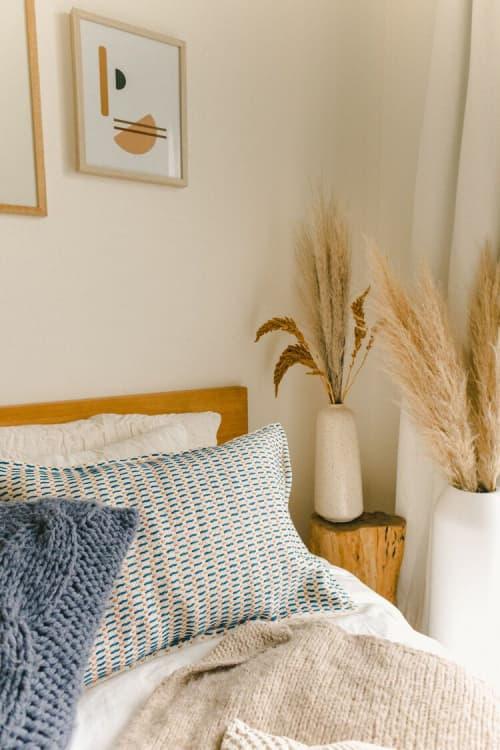 Iza Reversible Pillow | Pillows by Zuahaza by Tatiana