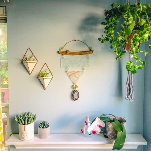 Push the Little Daises Wall Hanging   Art & Wall Decor by Samara Designs