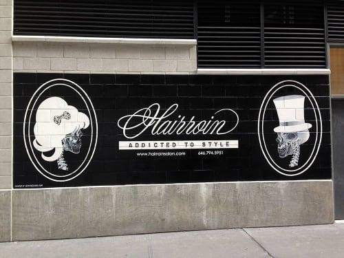Hairroin Salon | Signage by Very Fine Signs | Hairroin Salon in New York