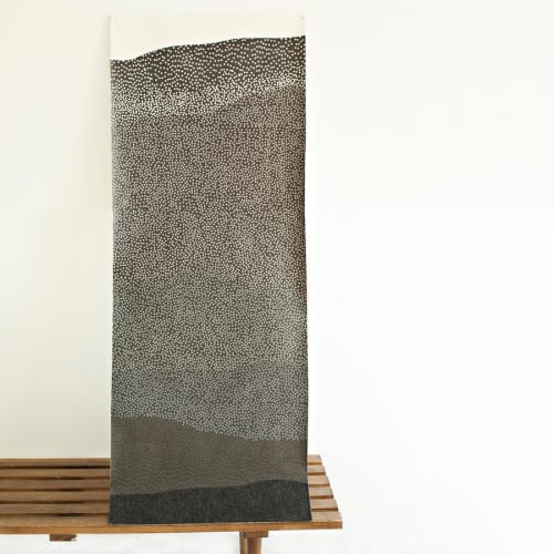 Wallpaper by Jill Malek Wallpaper - Tides   Dimensional Felt