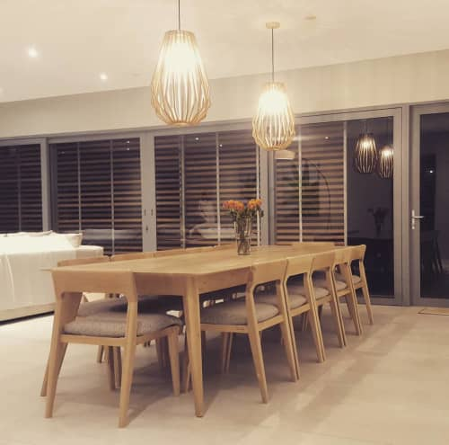 Tables by Louw Roets at Romansbaai Beach and Fynbos Estate, Gansbaai - Dining Set