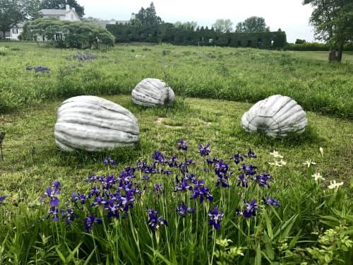 Pumpkins | Public Sculptures by John Ruppert | Grounds For Sculpture in Hamilton Township