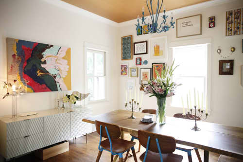 Chairs by Industry West at Private Residence, Seattle, WA, Seattle - A Cup Of Jo House Tour