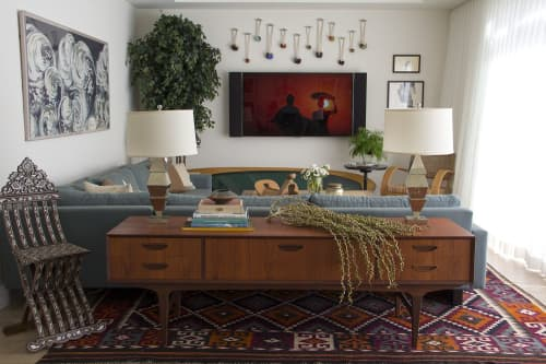 Wall Hangings by Cassandra Smith seen at Private Residence - Painted Knots