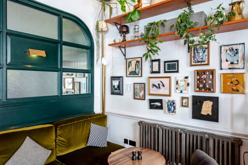 The Pilgrm Salon Hang   Paintings by Marcus Aitken   The Pilgrm in London