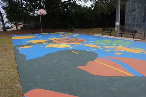 Titan | Street Murals by Keith Doles | Crabtree Park in Jacksonville