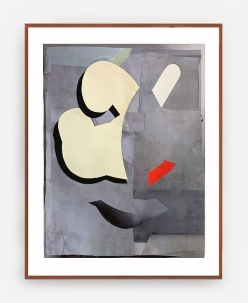 collage on paper | Paintings by Defi Gagliardo | Private Residence in Buenos Aires