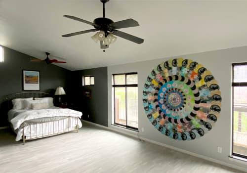 "Art & Wall Decor by Virginia Fleck seen at Private Residence, Burnet - Makeover Mandala78"" x 78"""