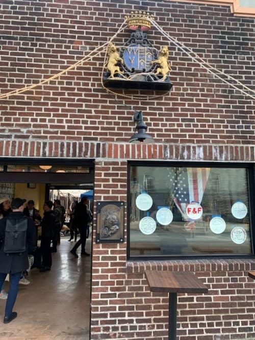 Tony Darazzo Portrait | Public Sculptures by Christopher Smith | F&F Pizzeria in Brooklyn