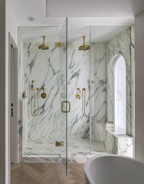 Arabescato Cervaiole | Tiles by ABC Stone | Private Residence, New York in New York