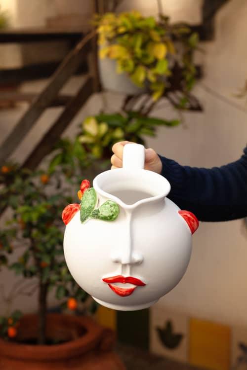 Tableware by Patrizia Italiano seen at Creator's Studio - Carmelina pitcher
