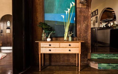 Tables by Brawley Made seen at Private Residence   Los Angeles, CA, Los Angeles - Henderson Sideboard